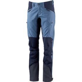 Lundhags Makke Pantalon Femme, azure/deep blue